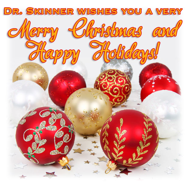 Merry Christmas and Happy Holidays | Dr. Sarah Skinner